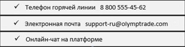 Олимп Трейд - полный обзор