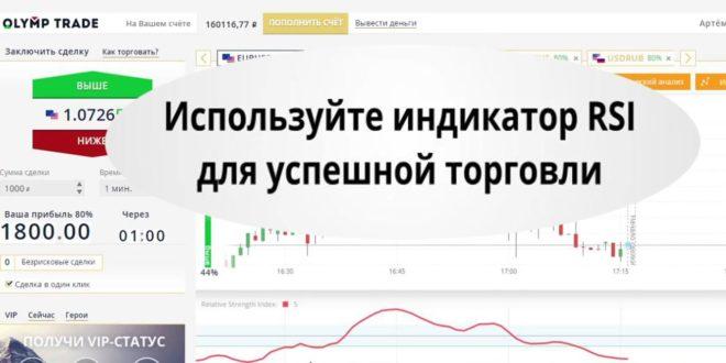 Настройка индикаторов в Олимп Трейд